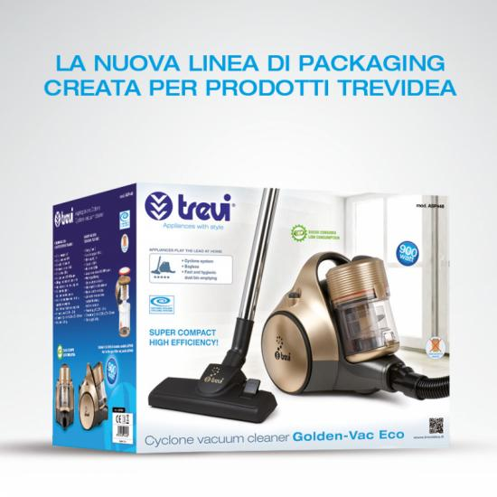 New design for Trevidea packaging